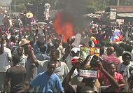Scuffles on anniversary of Haiti coup