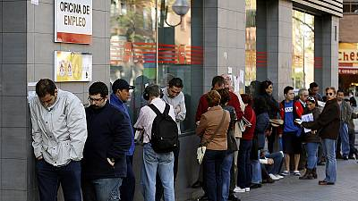 Spanish jobless rate rises