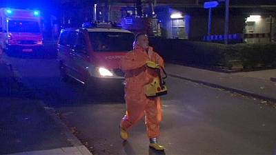 Ugandan doctor with ebola being treated in Germany