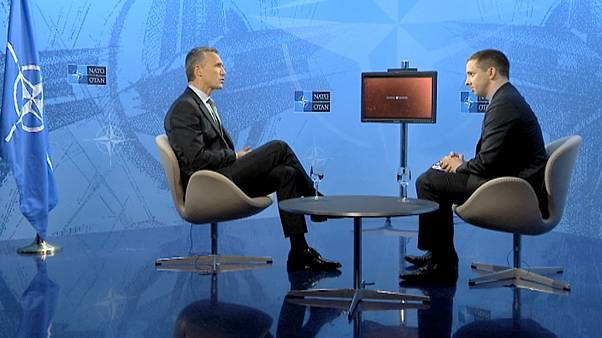Exclusive to euronews.com: NATO chief seeks better relations with Russia