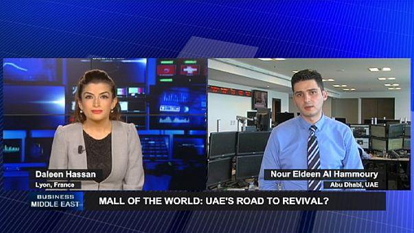 Dubai'de yapılan Mall of the World için önemli bir adım