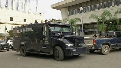 Mexico sends in federal police to maintain security in the massacre town of Iguala