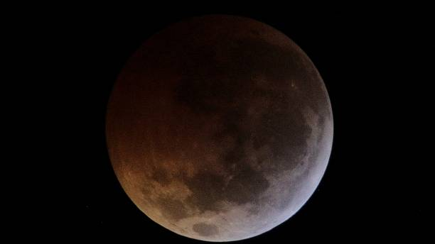 """Blood moon"" lunar eclipse provides stellar light show"