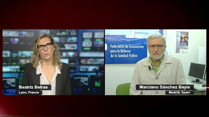 Spanyolországban az Ebola