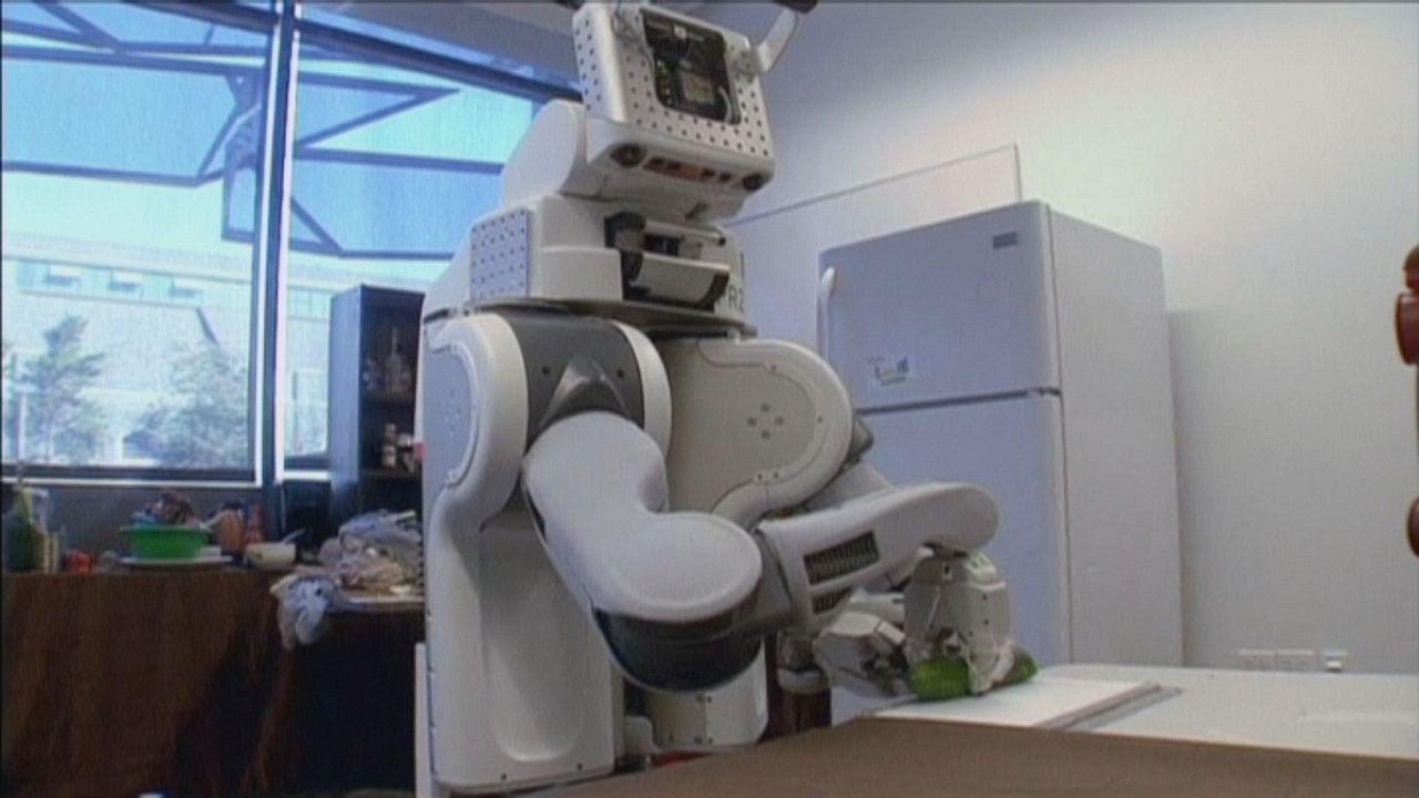 Segítő robotok a lakásban