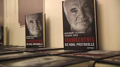Court rejects Helmut Kohl appeal over book chiding Merkel