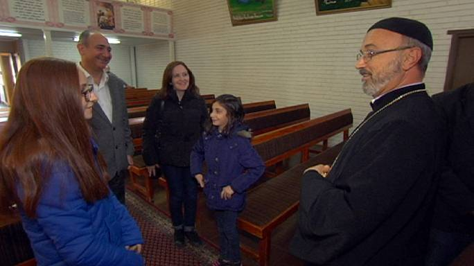 Sweden's Södertälje shelters Christian refugees from Syria and Iraq