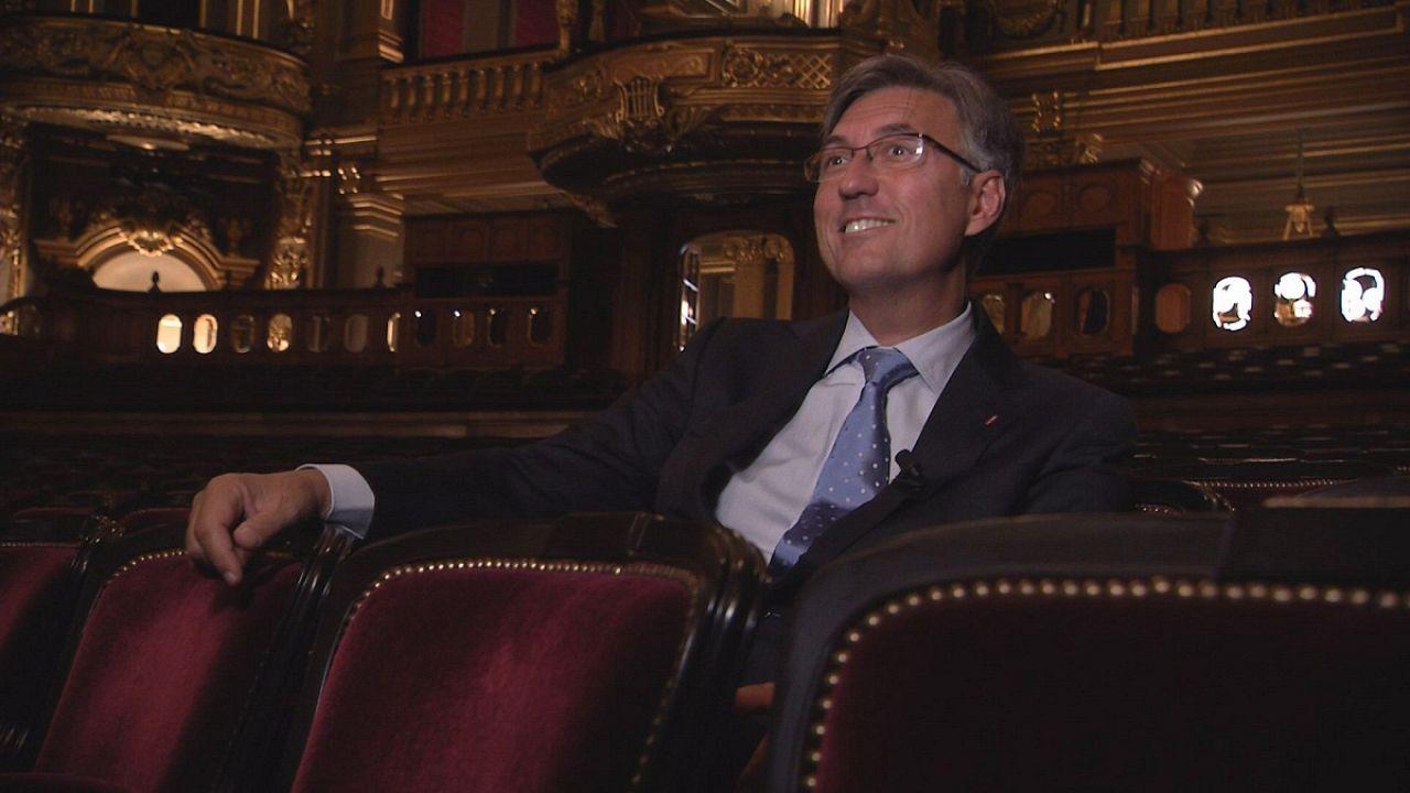 "Jean-Louis Grinda : ""je suis une sorte de bibliothécaire"""