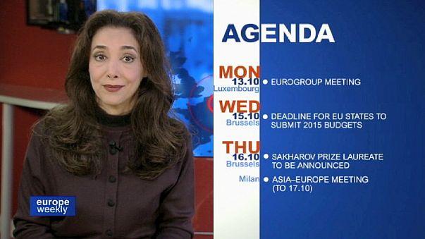 ابرز الانشغالات الاوروبية على مدى اسبوع في برنامج يوروب ويكلي الذي تقدمه فاريبا مافادات
