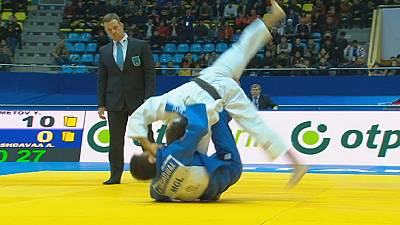 Judo Grand Prix Astana day one