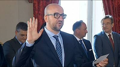 New Belgian government sworn in after months of talks
