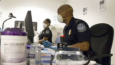 US airports step up screening of passengers for signs of Ebola