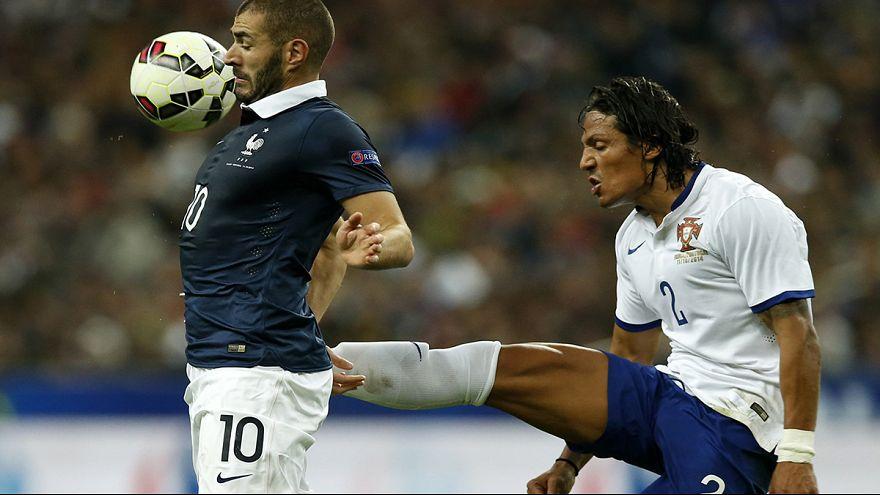 França 2-1 Portugal: Fernando Santos mudou a equipa mas não os resultados