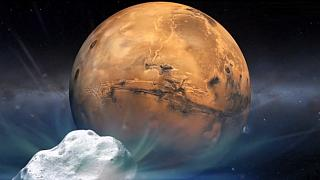 El próximo domingo Marte se encontrará con el cometa Siding Spring