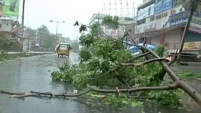 India: the destructive force of cyclone Hudhud – nocomment