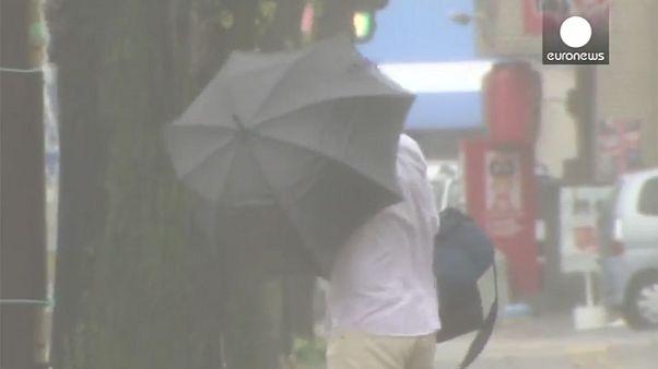Βίντεο: Στο έλεος του τυφώνα Βονγκφόνγκ η Ιαπωνία