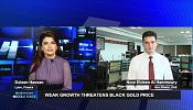 Weak growth threatens black gold price