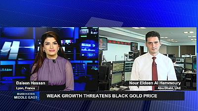 Weak growth threatens black gold price