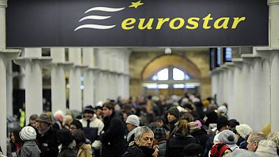 UK rail stake in Eurostar up for sale