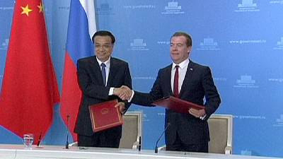 Russia signs deals with China to offset Ukraine sanctions