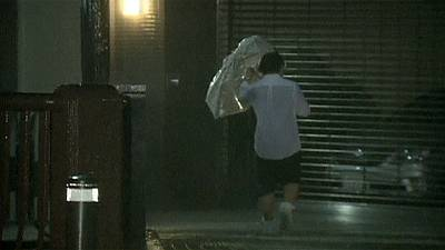 Deadly Typhoon Vongfong leaves Japan