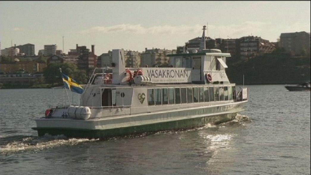 Movitz, surcar las aguas de Estocolmo sin emitir CO2