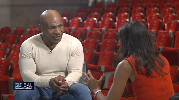 Pulling no punches: Mike Tyson on The Global Conversation today 23:45 CET