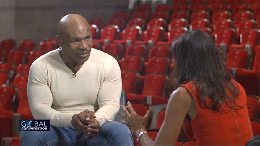 """""""I pugni nelle mani"""". Global conversation con Mike Tyson, oggi, alle 23:45 CET."""