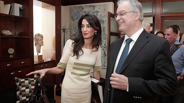 Αμάλ Αλαμουντίν-Κλούνεϊ:  Θα τα καταφέρουμε με τα Γλυπτά του Παρθενώνα