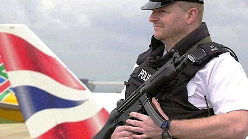 اعتقال ستة بريطانيين بتهمة تتعلق بالارهاب
