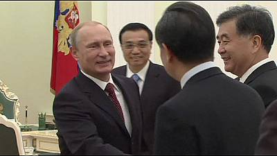Russia and China get friendly over trade and energy deals