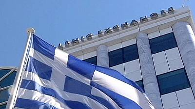 Greek shares slump, borrowing costs rise on bailout exit worries