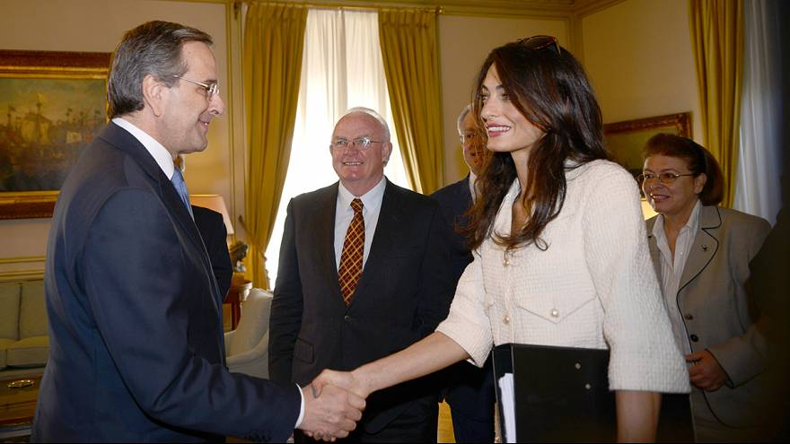Amal Clooney weighs in on Greek battle for Parthenon Marbles