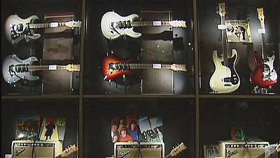 Far north high notes from super tuned electric guitar museum