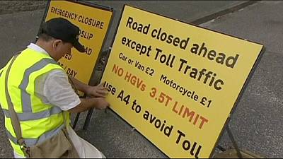 Enterprising UK resident builds his own private toll road