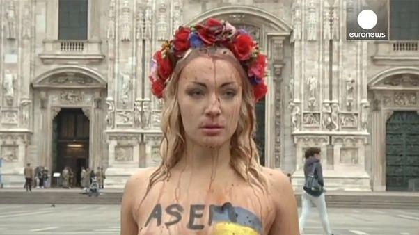 ΒΙΝΤΕΟ: Οι FEMEN «ξαναχτύπησαν» τον...Πούτιν