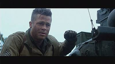 Brad Pitt stars in gory WWII movie