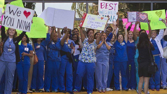 Ebola : émouvante vidéo de Nina, 1ère infirmière infectée aux Etats-Unis