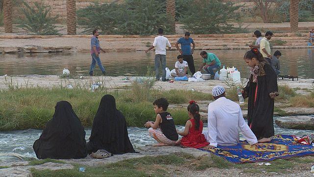 Hanifa vádi: egy nagyvárosi oázis újjászületése