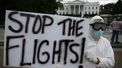 Calls for travel ban to stop spread of the Ebola virus