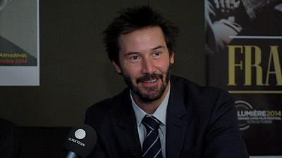 Matrix actor Keanu Reeves at Lumiere Film Festival in Lyon