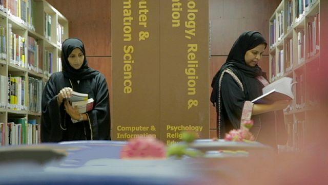 Sur les bancs d'une université pionnière de Riyad