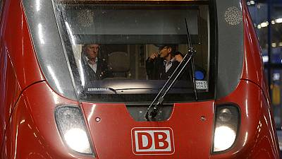 Train drivers strike in Germany at start of school holidays