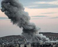 Explosions rock Syrian border town of Kobani