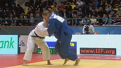 Heavyweights in action on final day of Judo Grand Prix Tashkent