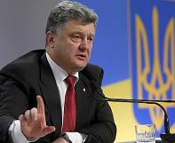 "Ukrainian president attacks ""fake"" elections planned by rebels in east"