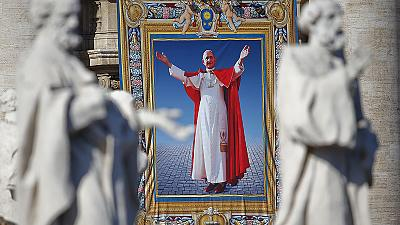 Pope Paul VI beatified by Pope Francis at Vatican mass