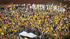 Milhares de pessoas saíram às ruas por uma Catalunha independente
