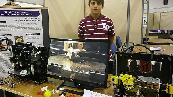 Ο 14χρονος Έλληνας που έφτιαξε τον δικό του εκτυπωτή τρισδιάστατων αντικειμένων!