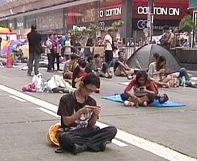 Las autoridades de Hong Kong aseguran que fuerzas extranjeras están detrás de las manifestaciones prodemocráticas